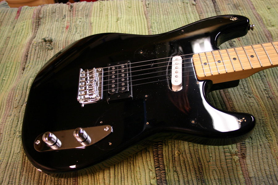 strat pickguard pick squier 51 neck tele removed fender thing guitar heck pickup remove stratocaster skip section going